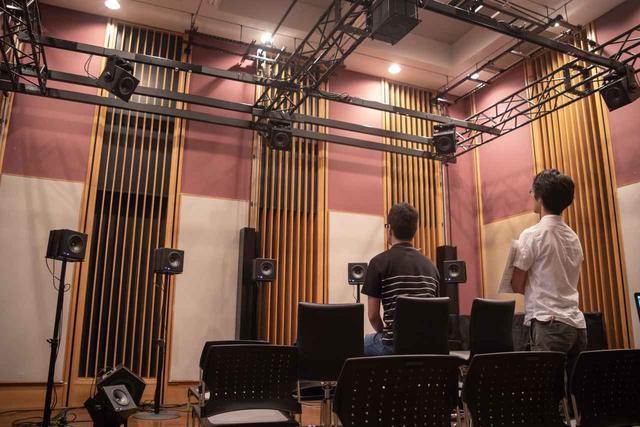 画像: ウェルカムコンサートの22.2ch音響による再生