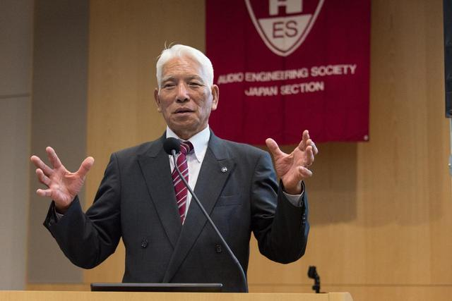 画像: 東京電機大学学長 安田浩氏によるウェルカム講演
