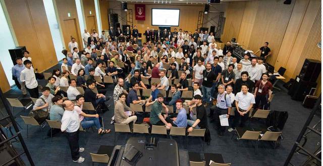 画像: 世界各国から集まったAES国際コンファレンスの参加者