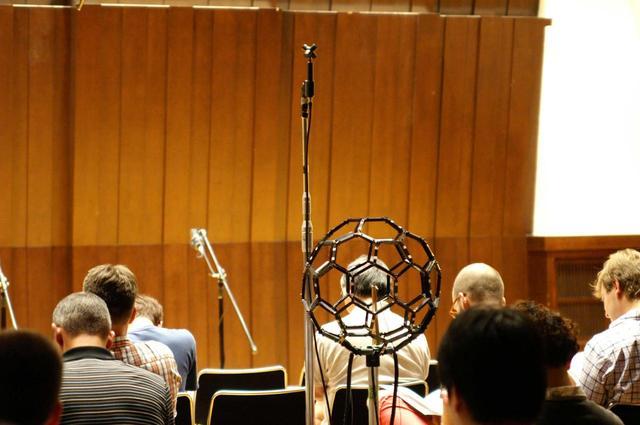 画像: ウェルカムコンサートの3Dサウンド録音