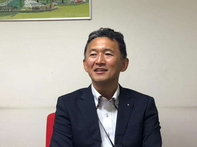 画像: 「広島エフエム放送」管理本部 技術部長、寺島陸雄氏