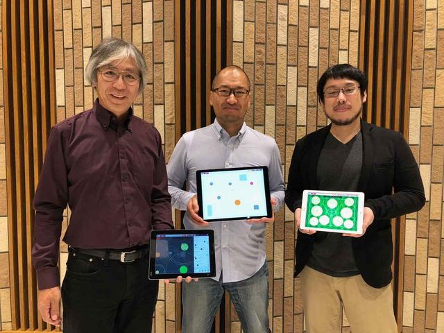 画像: 左から、開発を手がけた「ラグナヒルズ」の日笠山泉氏、このアプリを企画した「TBSテレビ」技術局の小沢冬平氏、「ラグナヒルズ」のプログラマーである山越雅晴氏