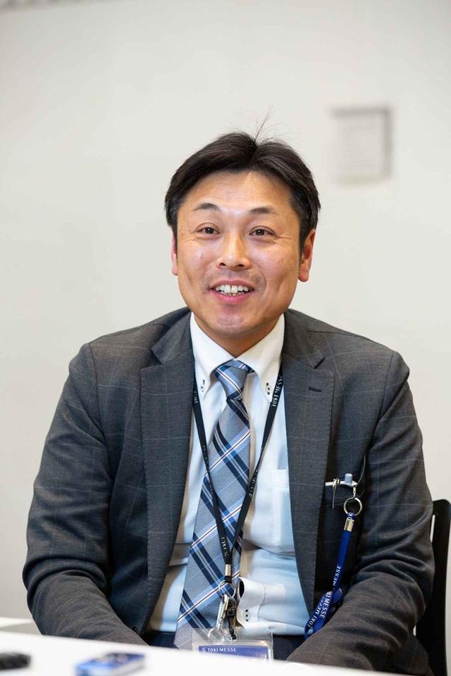 画像: 「新潟コンベンションセンター」の管理を担当する「新潟万代島総合企画」の笠原光治氏