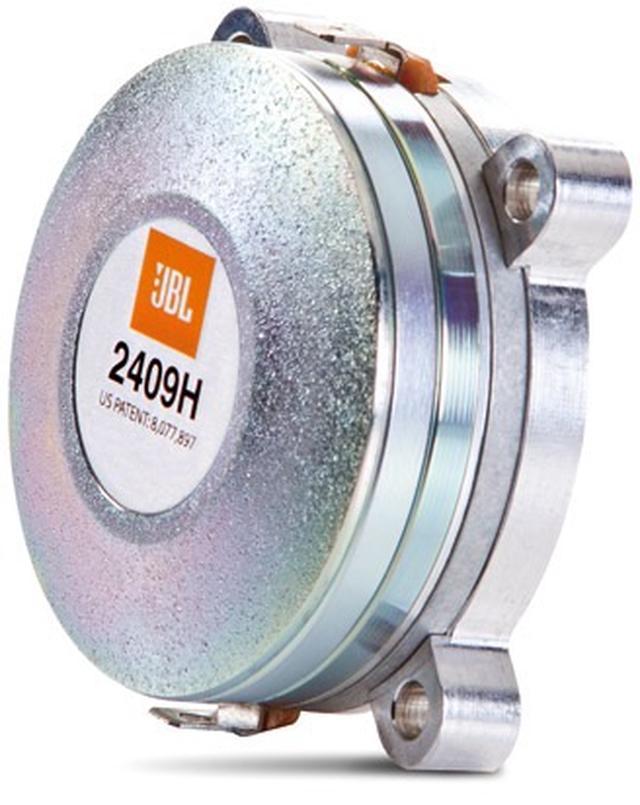 画像: 新型の「2409H」コンプレッション・ドライバーは、1インチの環状ポリマー製ダイアフラムを搭載している。金属製ドライバーが持つ固有の響きがなく、軽量なため入力信号への追従性にも優れている