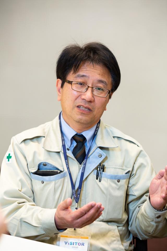 画像: 今回の改修工事を受け持った「斎藤電設」の阿部彰氏