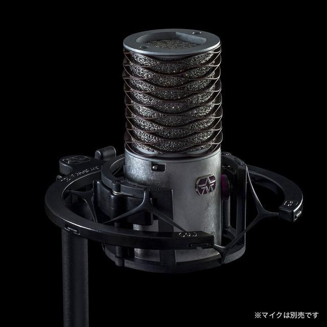 画像: マイクの取り付け/取り外しは、ワンタッチでしっかりと固定される機構となっている