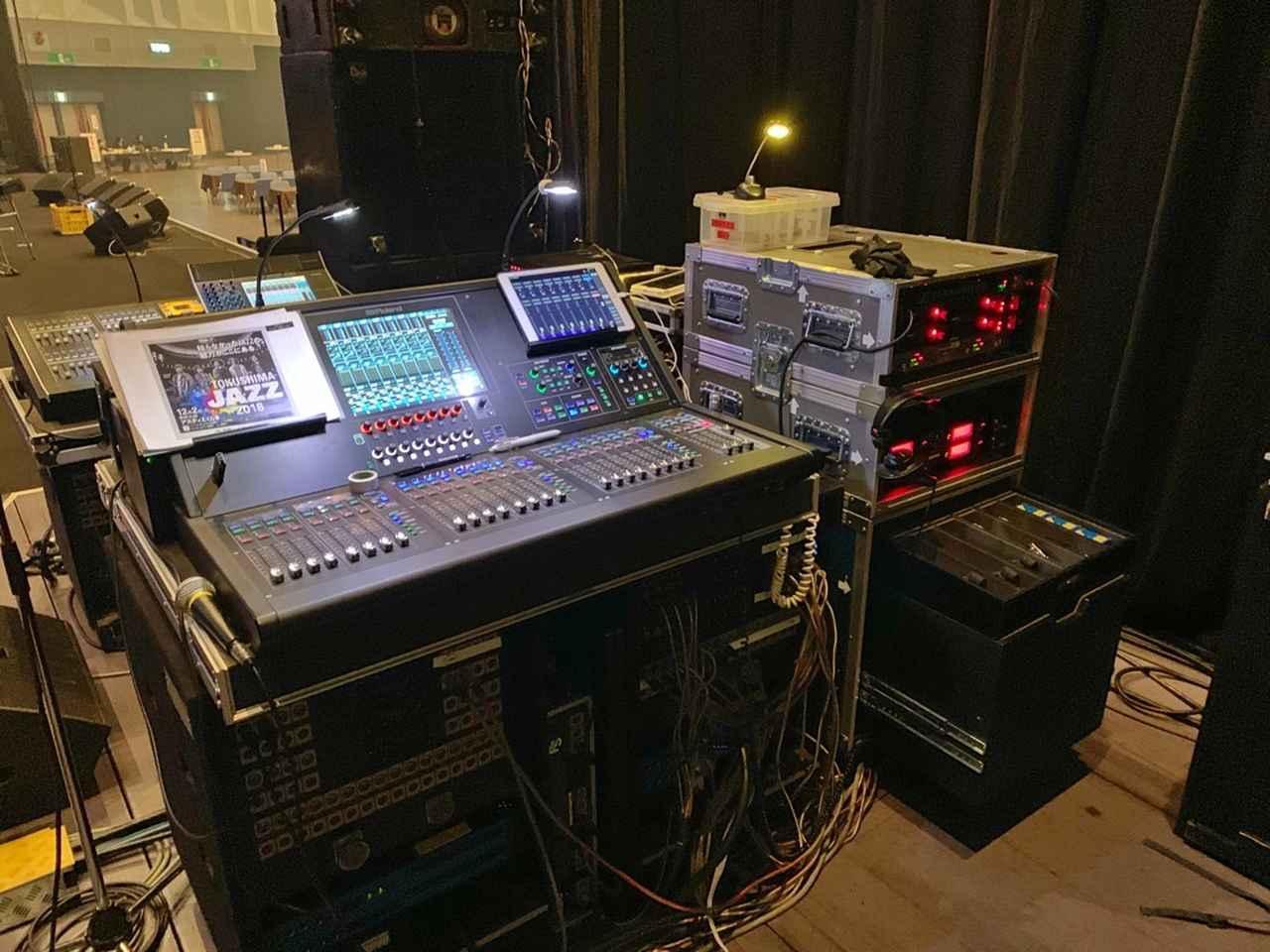 画像: M-5000とSoundGridの組み合わせをフル活用
