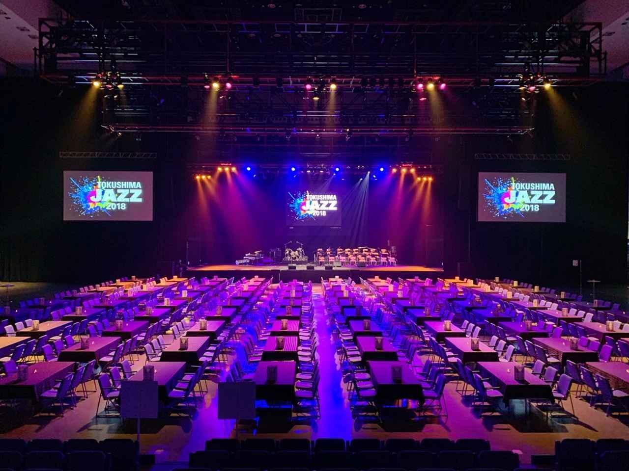画像: 昨年末、「アスティとくしま」で開催されたイベント『TOKUSHIMA JAZZ』でも「M-5000」は使用された