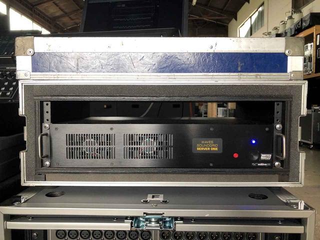 画像: Waves SoundGridサーバーの「Server One」。「モウブ」では2台運用している