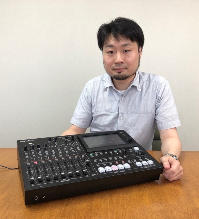 画像: ローランド RPG第1開発部 製品リーダーの茶谷 弘行氏