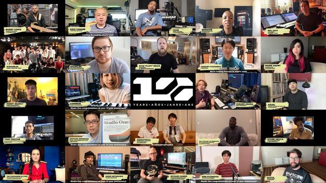 画像: PreSonus | Studio One誕生10周年 ー 世界中のアーティストから祝福メッセージ www.youtube.com
