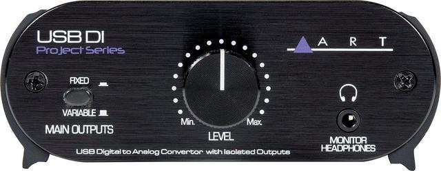 画像1: 日本エレクトロハーモニックス、パソコンのUSB出力をPAやオーディオ・システムに繋ぐDIボックス ART「USB DI」を発売。高品質なD/Aコンバーターを内蔵