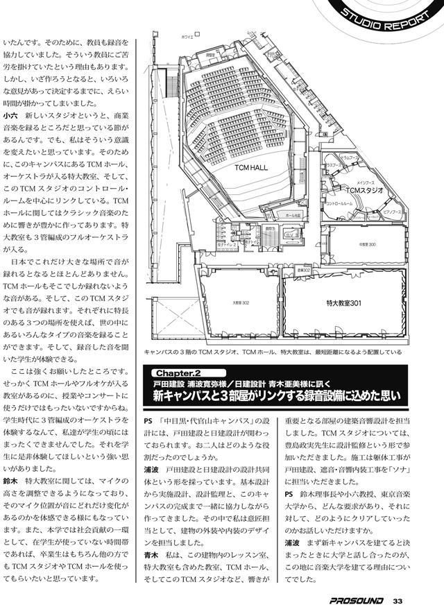 画像4: SPECIAL STUDIO REPORT 東京音楽大学 中目黒・代官山キャンパス(前編)