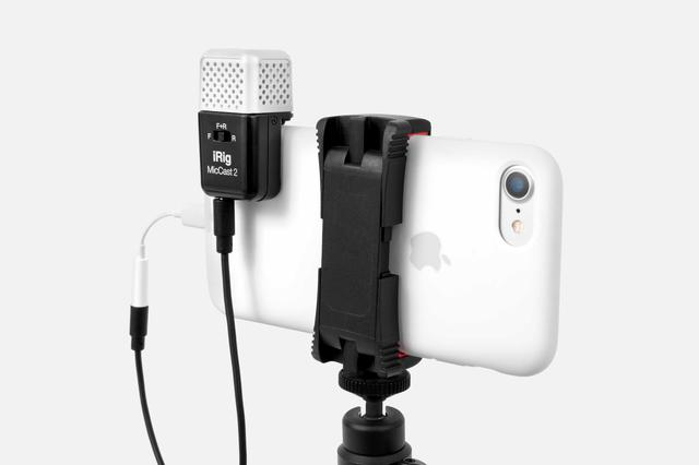 画像: IK Multimedia - iRig Mic Cast 2