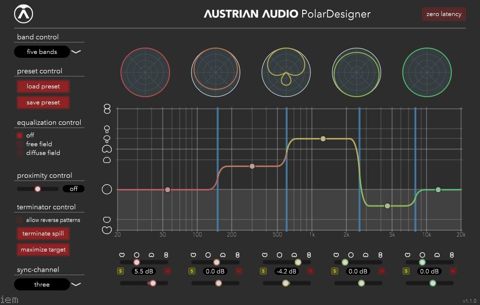 画像: 「OC818」にはダイアフラムごとに出力が備わっており、両方の音をDAWに収録することで、後からパターンをコントロールすることが可能。それを実現するのがこのプラグイン、「PolarDesigner」だ。VST/AU/AAXに対応