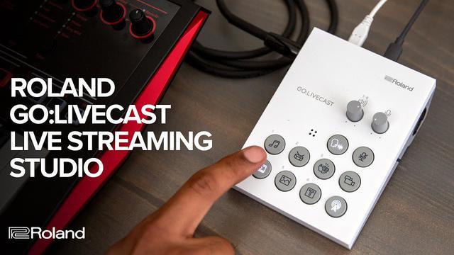 画像: Roland GO:LIVECAST スマートフォン用 簡単ライブ配信ツール youtu.be