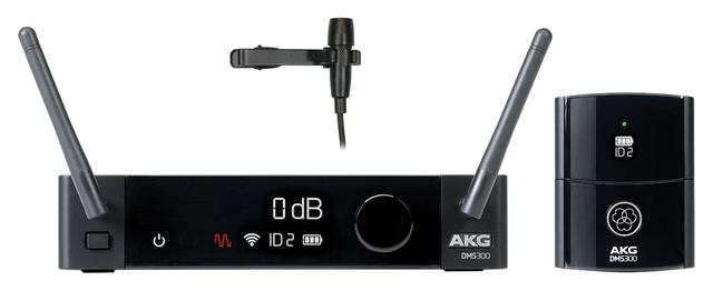 画像3: ヒビノから、AKGのワイヤレスシステム「DMS300 Series」が発売される。最大8台の安定した同時運用を実現