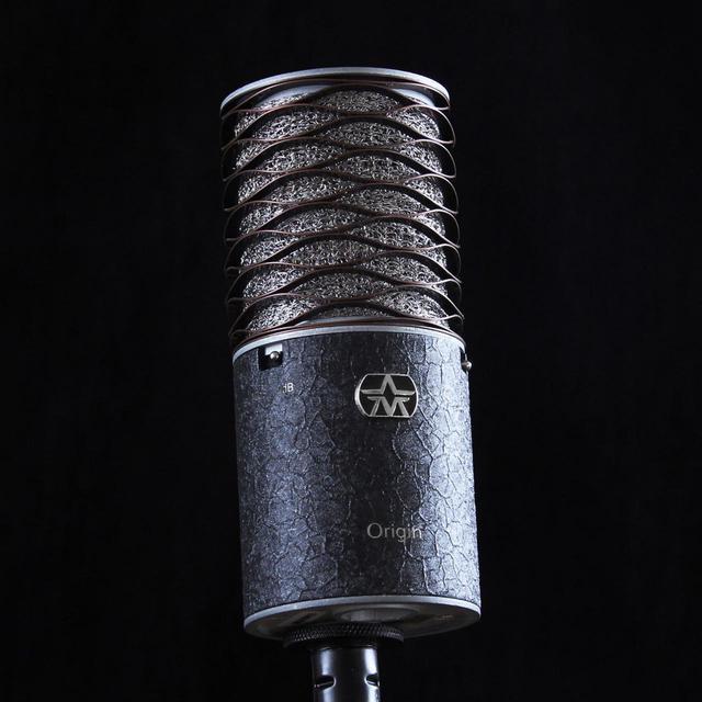 画像1: Aston Microphonesのコンデンサーマイク「Origin」に高級感溢れるクロコダイル調の塗装を施した限定モデルが登場。ポップガードを搭載したショックマウント「Aston Swift Shield」もバンドル