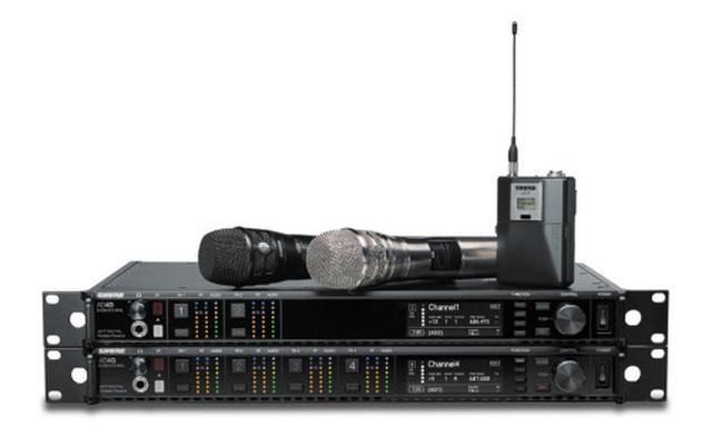 """画像: Shure """"AXT Digital 1.2GHz帯域モデル""""発売 - お知らせ - ヒビノインターサウンド株式会社"""