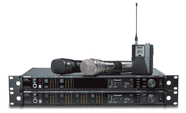 画像: SHURE AXT Digital 1.2GHz帯域モデル登場。最大148chの同時運用も可能に!