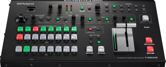 画像: 4K HDR マルチフォーマット・ビデオ・スイッチャー「V-600UHD」