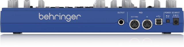 画像2: シンセサイザーの名機「TB-303」をオマージュしたBehringer「TD-3」に新色(青色)登場