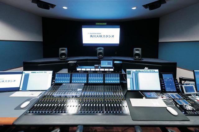 画像: Dolby Atmos Homeフォーマットへのダビング作業を行なった「角川大映スタジオ」のMAルーム