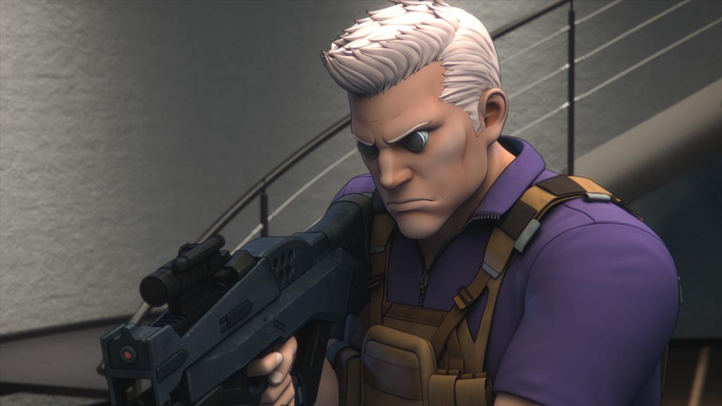 画像: 「攻殻機動隊」シリーズの主人公の相棒バトー。本作では草薙と共に傭兵部隊に入隊している