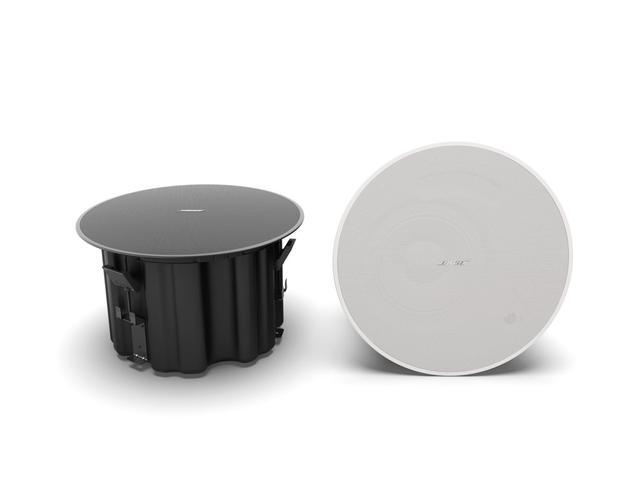 画像: 「DesignMax」シリーズの「DM8C」。8インチのユニットとコンプレッション・ドライバーを搭載した天井取り付け型スピーカー(屋内専用)