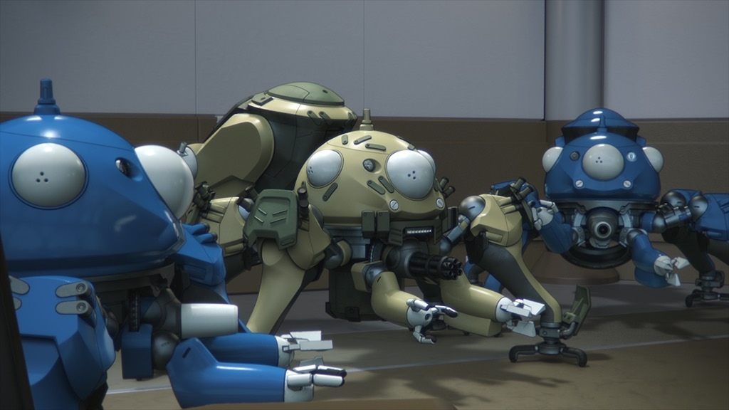 画像: 『攻殻機動隊 SAC_2045』に登場するタチコマ