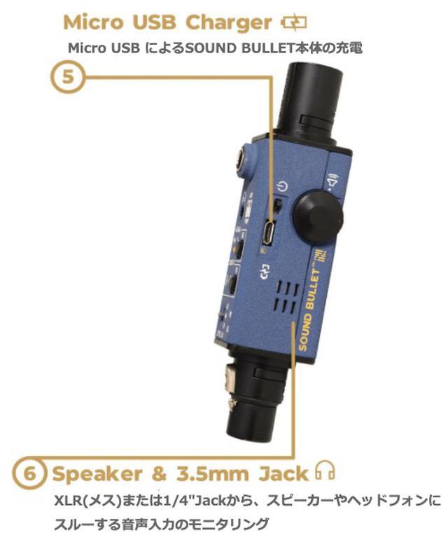画像7: ポケットサイズで、音声信号や通線の入出力がチェックできる!SONNECT AUDIO社のポータブル型オーディオテスター「サウンドバレット」が発売中