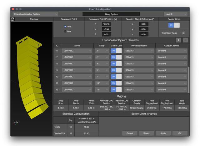 画像4: Meyer Soundから無料のサウンドシステム設計ソフトウェア「MAPP 3D」がリリース。正確で高精度な音響予測を3次元の音場で行うことが可能!