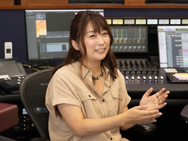 画像: 関西テレビ放送 制作技術センターの野村理恵氏