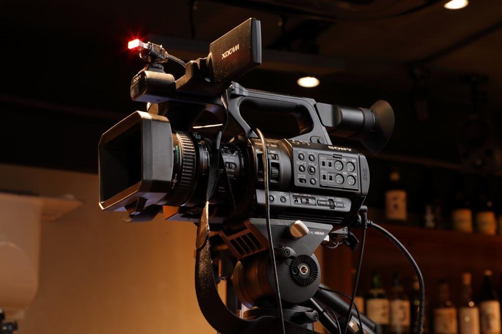 画像: メイン・カメラのソニー XDCAM PXW-Z280
