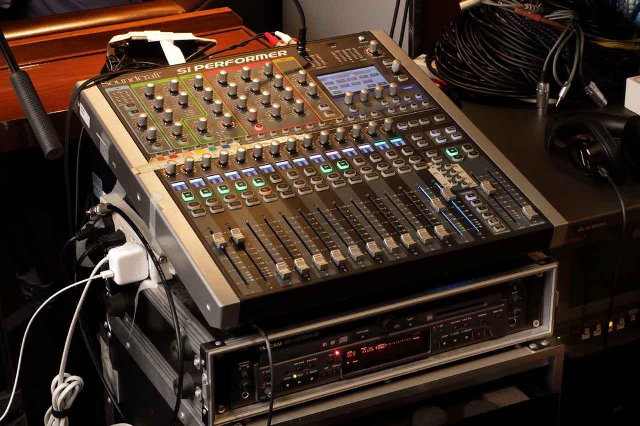 画像: PAコンソールは、Soundcraft Si Performer 1