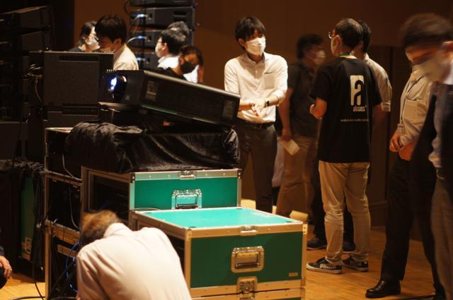 画像: 試聴会後に行われたフリータイム