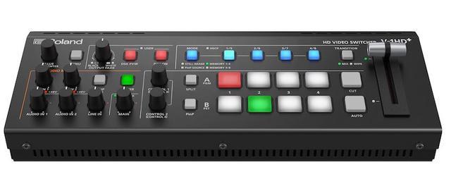 画像: ローランド ビデオ・スイッチャー「V-1HD+」を発売。高画質・高音質のプロ用 ライブ配信で使えるコンパクトサイズ
