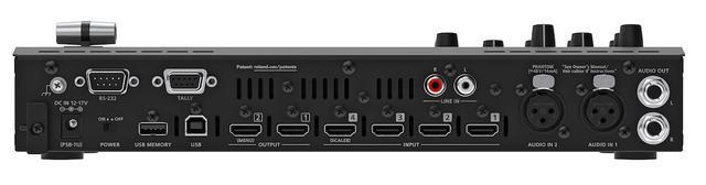 画像: ●映像入出力端子/カメラ、パソコン、タブレット、ビデオゲームなどさまざまな機器と接続可能。HDMI入力4、出力2。●オーディオ入出力端子/オーディオミキサー14ch、XLRマイク入力2など