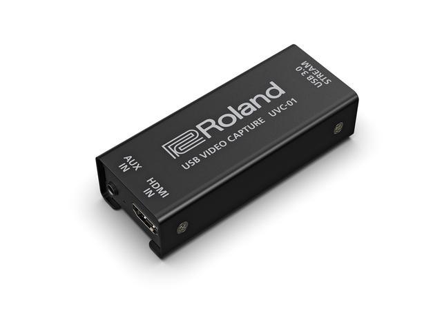 画像: V-1HD+と同時に発表されたUSBビデオ・キャプチャー、UVC-01。HDMI出力をシンプルにパソコンに取り込むことができる便利機材だ