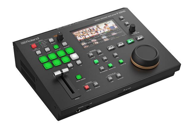 画像: ローランド ビデオ・インスタント・リプレイヤー「P-20HD」、2021年春発売。eスポーツ配信等で活躍するスローモーション・リプレイ映像の挿入が可能
