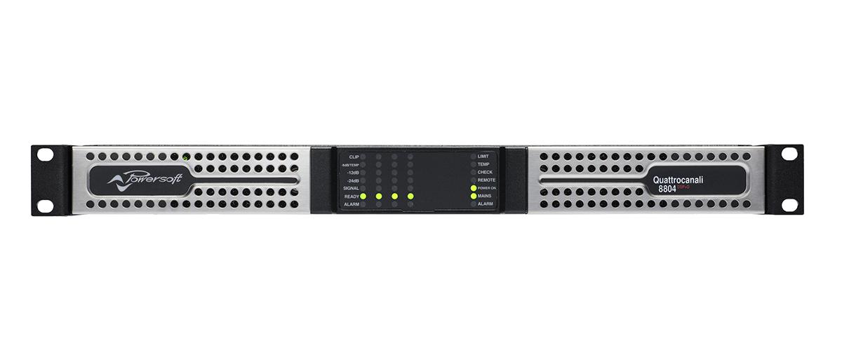 画像1: Powersoftから、中~大規模設備向けパワーアンプ「Quattrocanali 8804 DSP+D」と「Duecanali 6404 DSP+D」が発売中