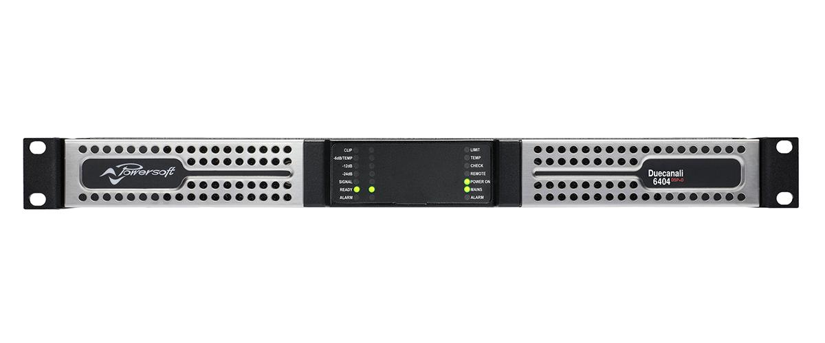 画像3: Powersoftから、中~大規模設備向けパワーアンプ「Quattrocanali 8804 DSP+D」と「Duecanali 6404 DSP+D」が発売中