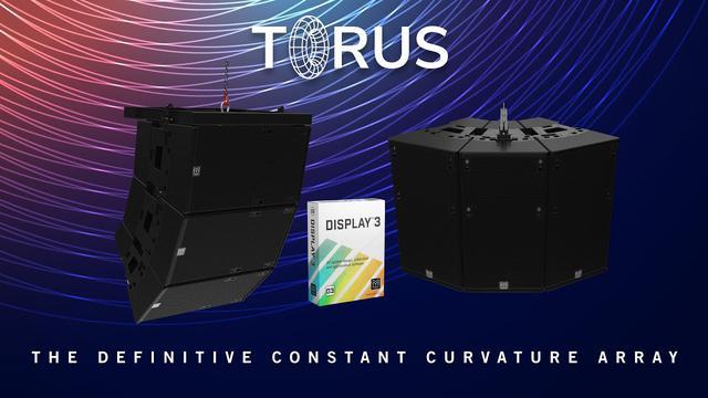 画像: Martin Audio TORUSとDISPLAY3ソフトウェアの新製品発表会 www.youtube.com