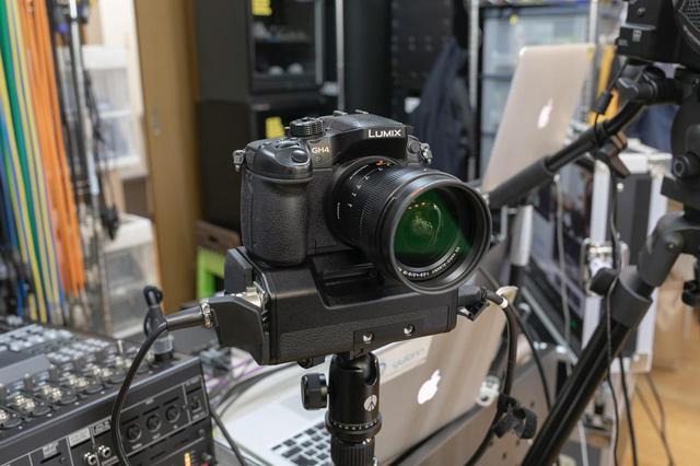 画像: ミラーレス一眼レフのパナソニック LUMIX AG-GH4U