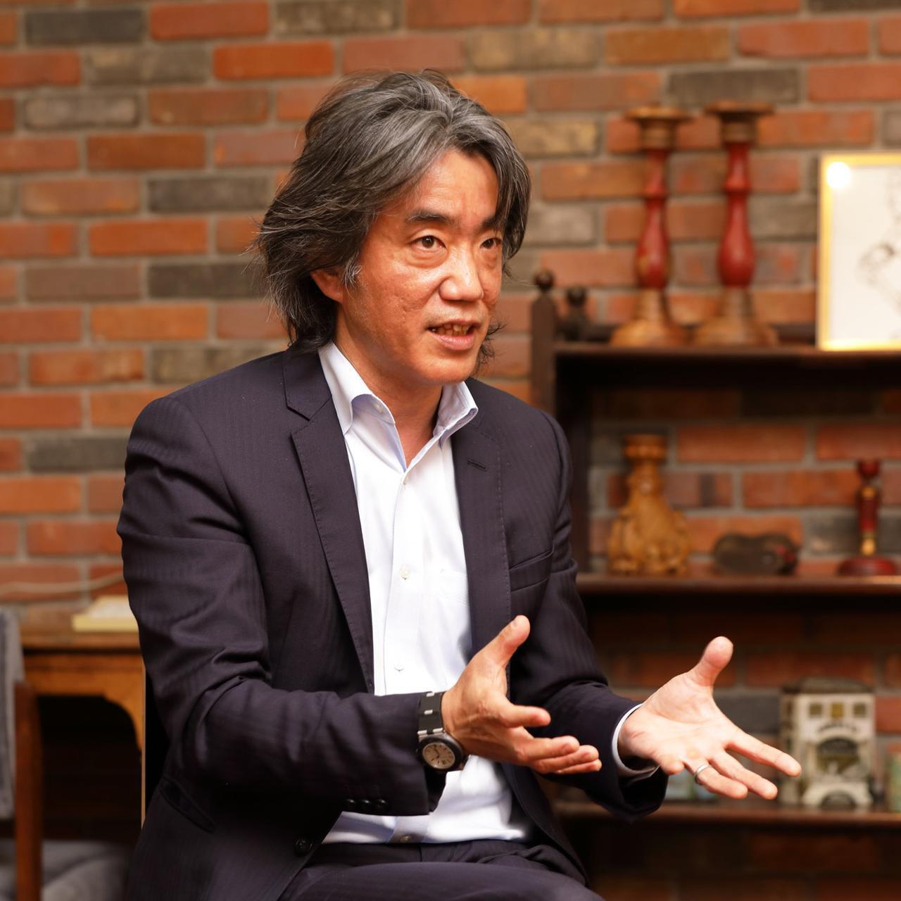 画像: アコースティックエンジニアリングの入交研一郎氏