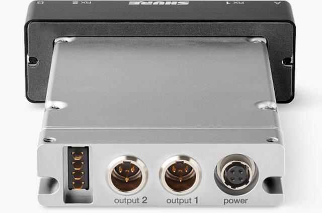 画像4: プロサウンド独占配信!!放送や映画のロケ、スポーツ中継などの使用に最適化した SHUREのハイエンド・ポータブルワイヤレス受信機ADX5D登場