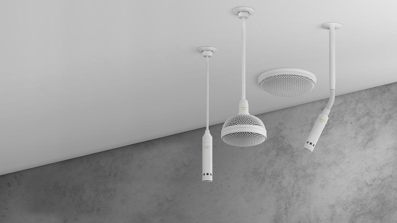 画像: AUDIX  Ceiling Microphones