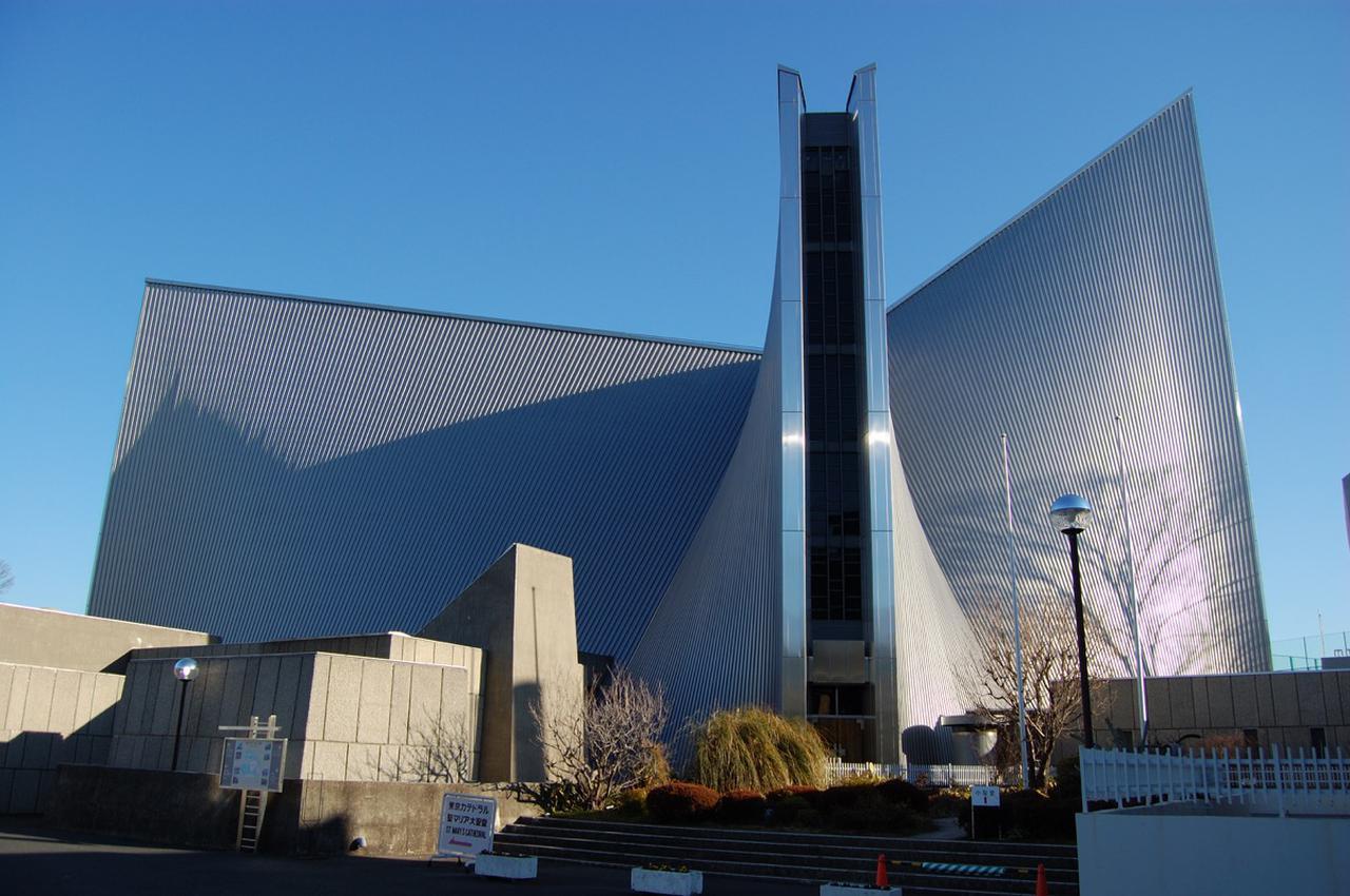 画像: 東京都文京区関口にある『東京カテドラル聖マリア大聖堂』。日本最大規模のカトリック教会である