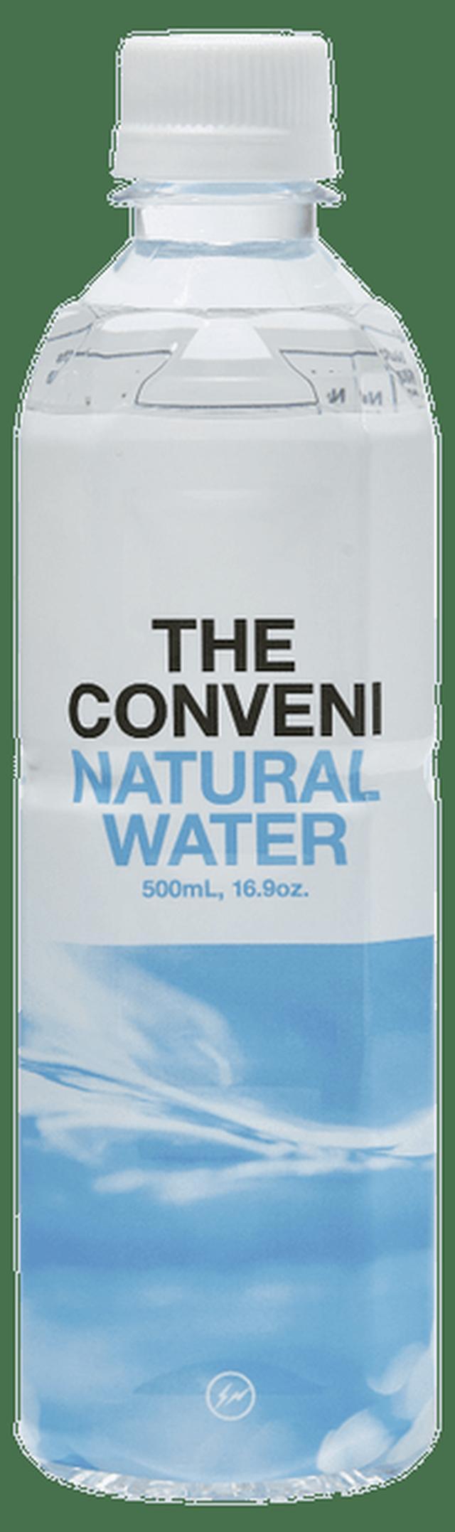 画像: オリジナルパッケージの飲料水。天然ミネラルが豊富な南阿蘇の水を使用。162円