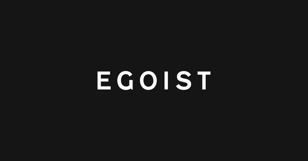 画像: EGOIST OFFICIAL SITE | エゴイスト公式ブランドサイト